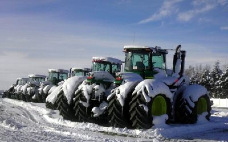 Tips on starting your diesel tractors during cold winter